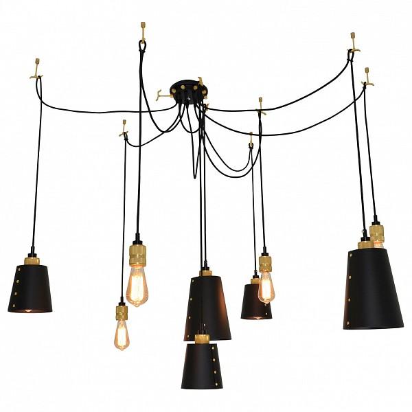 Подвесной светильник Loft LSP-9869Подвесной светильник Loft LSP-9869Артикул - LSP-9869, Бренд - Lussole (Италия), Серия - Loft, Гарантия, месяцы - 24, Рекомендуемые помещения - Гостиная, Кабинет, Прихожая, Спальня, Высота, мм - 200-1400, Диаметр, мм - 2800, Цвет плафонов и подвесок - черный, Цвет арматуры - бронза, черный, Тип поверхности плафонов и подвесок - матовый, Тип поверхности арматуры - матовый, Материал плафонов и подвесок - металл, Материал арматуры - металл, Лампы - компактная люминесцентная [КЛЛ] ИЛИнакаливания ИЛИсветодиодная [LED], цоколь E27; 220 В; 60 Вт, , Класс электробезопасности - I, Общая мощность, Вт - 540, Лампы в комплекте - отсутствуют, Общее кол-во ламп - 9, Количество плафонов - 4, Возможность подключения диммера - можно, если установить лампу накаливания, Степень пылевлагозащиты, IP - 20, Диапазон рабочих температур - комнатная температура, Масса, кг - 6.04, Дополнительные параметры - способ крепления светильника к потолку - на монтажной пластине, регулируется по высоте<br><br>Артикул: LSP-9869<br>Бренд: Lussole (Италия)<br>Серия: Loft<br>Гарантия, месяцы: 24<br>Рекомендуемые помещения: Гостиная, Кабинет, Прихожая, Спальня<br>Высота, мм: 200-1400<br>Диаметр, мм: 2800<br>Цвет плафонов и подвесок: черный<br>Цвет арматуры: бронза, черный<br>Тип поверхности плафонов и подвесок: матовый<br>Тип поверхности арматуры: матовый<br>Материал плафонов и подвесок: металл<br>Материал арматуры: металл<br>Лампы: компактная люминесцентная [КЛЛ] ИЛИ&lt;br&gt;накаливания ИЛИ&lt;br&gt;светодиодная [LED],цоколь E27; 220 В; 60 Вт,<br>Класс электробезопасности: I<br>Общая мощность, Вт: 540<br>Лампы в комплекте: отсутствуют<br>Общее кол-во ламп: 9<br>Количество плафонов: 4<br>Возможность подключения диммера: можно, если установить лампу накаливания<br>Степень пылевлагозащиты, IP: 20<br>Диапазон рабочих температур: комнатная температура<br>Масса, кг: 6.04<br>Дополнительные параметры: способ крепления светильника к потолку - на монтажной пластине, &lt;br&gt;регули