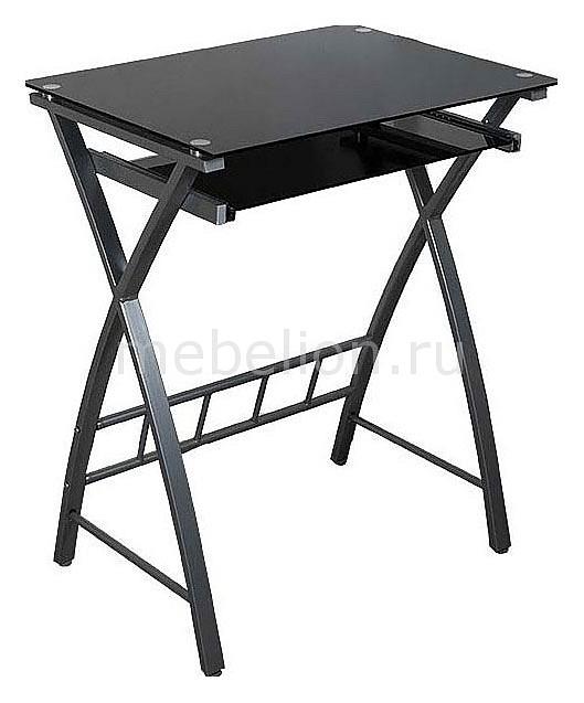 Стол компьютерный  Бюрократ GD-003 черный