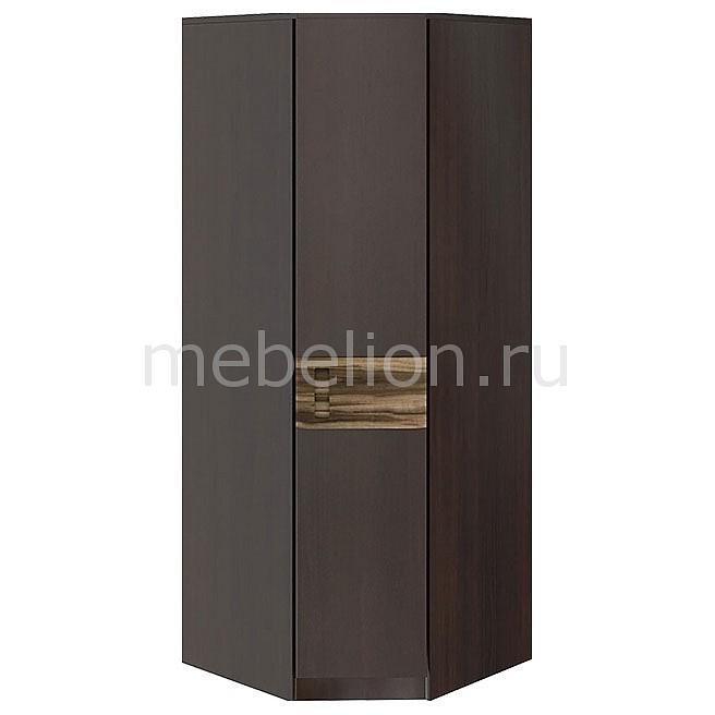 Шкаф платяной угловой Клеопатра СМ-111.07.006 груша монтего/шведская слива