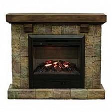 Электрокамин напольный Real Flame (112х34х96.5 см) Langley Castle 00010009944
