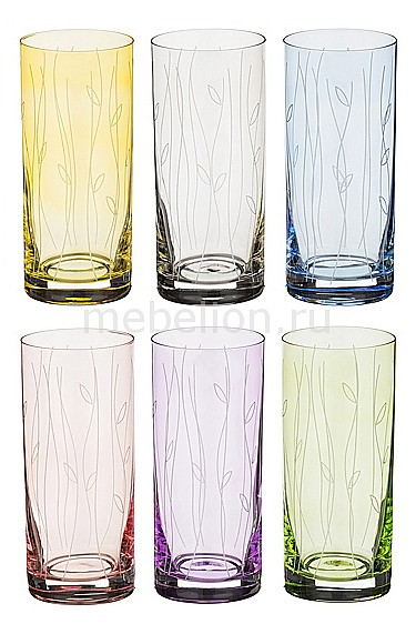 Набор стаканов АРТИ-М Набор из 6 стаканов Ева 674-116 арти м 34 см waterfall 674 337