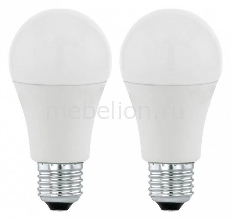Комплект из 2 ламп светодиодных Eglo A60 Valuepack E27 60Вт 3000K 11543