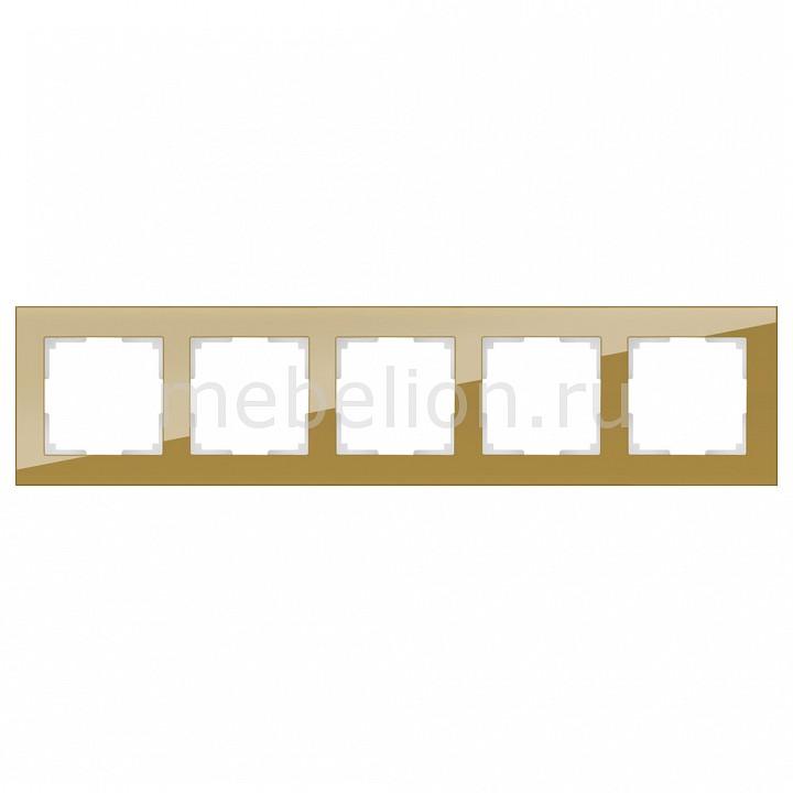 Рамка на 5 пост Werkel Favorit WL01-Frame-05 рамка favorit на 1 пост бронзовый wl01 frame 01 werkel 1209837