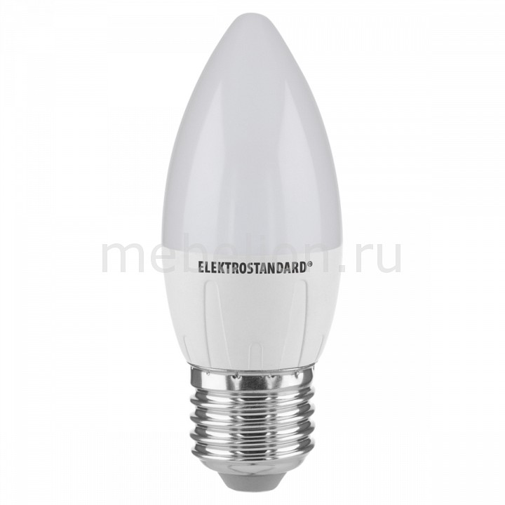 Лампы светодиодная Elektrostandard Свеча СD LED 6W 6500K E27 e27 3w 6 x 5730 smd led ac85 265v 220lm white 6500k ball bulb with transparent cover