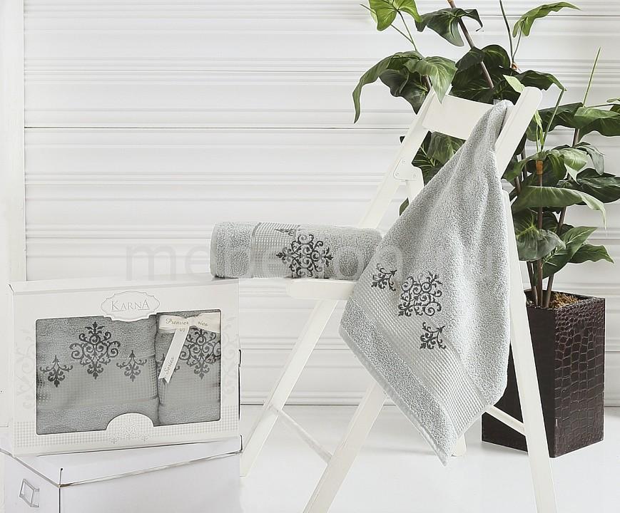 Набор полотенец для ванной Karna Набор из 2 полотенец для ванной VICTORY karna karna кухонный набор из 2 полотенец avze v21