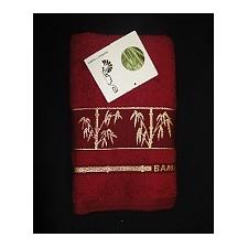 Набор полотенец для ванной Bonita Fakili бордовый AR_E1004606_6