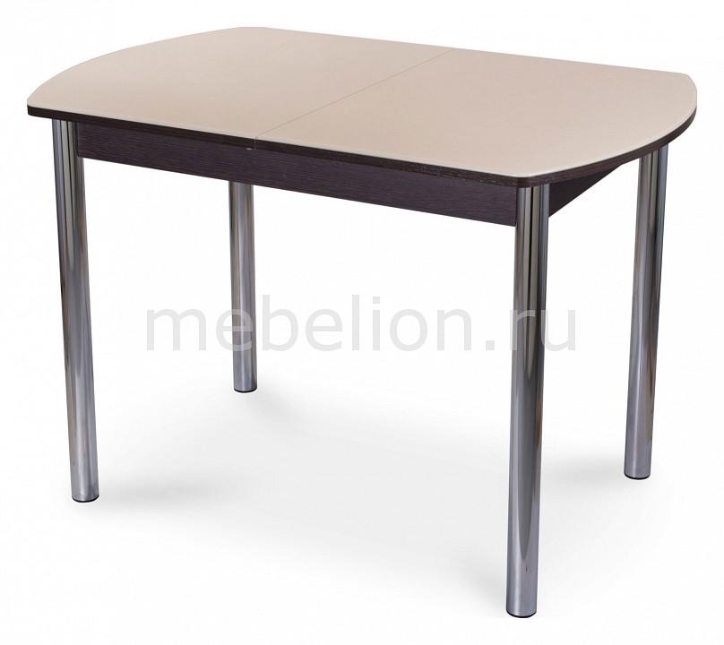 Стол обеденный Гамма ПО со стеклом