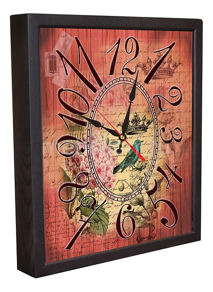 Настенные часы Акита (34х30 см) Винтаж 3034-16 akita 3034 2