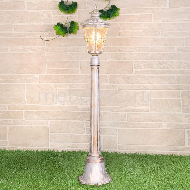 Наземный низкий светильник Elektrostandard Diadema F (GLYF-8046F) белое золото садово парковый светильник elektrostandard diadema f 3 glyf 8046f 3 белое золото 4690389082504