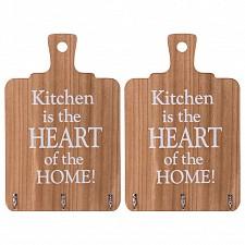 Вешалка настенная АРТИ-М (18.6х29 см) Кухня - сердце дома 222-307