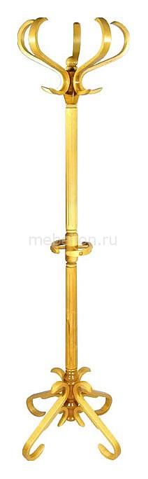 Вешалка-стойка В-10Н светло-коричневая