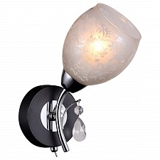 Бра IDLamp 843/1A-Blackchrome 843