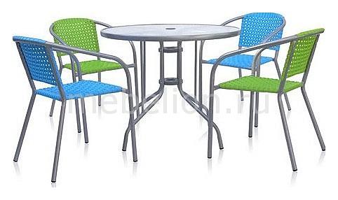 Набор уличный Afina ХRB-035А_D-D90 комплект садовой мебели xrb 035 а d с d80x80