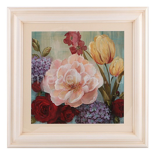 Панно (73х73 см) Цветы 296-294