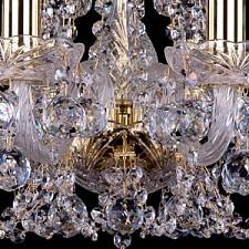 Подвесная люстра Bohemia Ivele Crystal 1406/8/141/G/Balls 1406