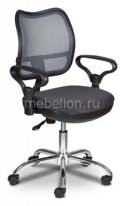 Кресло компьютерное Бюрократ Бюрократ CH-799SL/DG/TW-12темно-серый/хром кресло компьютерное бюрократ бюрократ ch 899sl tw 11 черный хром