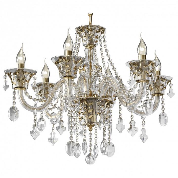 Подвесная люстра Lightstar Tesoro 710062 люстра потолочная коллекция tesoro 710082 золото коньячный прозрачный lightstar лайтстар