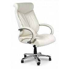 Кресло для руководителя Chairman 420 белый/хром, черный