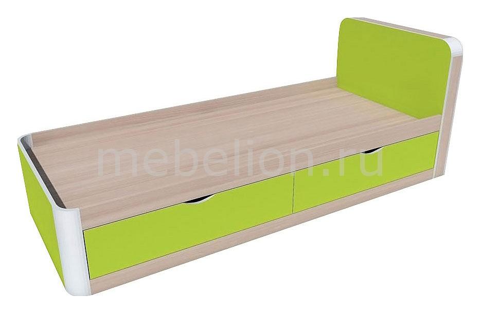 Кровать Артек НМ 014.38  журнальный столик из черного стекла