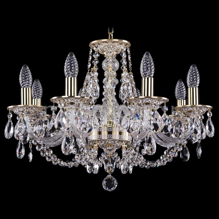 Подвесная люстра Bohemia Ivele Crystal 1606/8/195/GW 1606