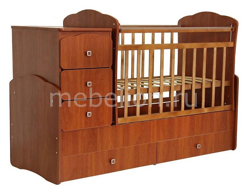 Кроватка-трансформер Фея Фея 2100 детская кроватка фея 101 орех