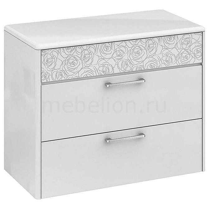 Комод Мебель Трия Амели ТД-193.04.01 белый глянец cтенка для гостиной трия вега тд 196 01 венге линум белый глянец