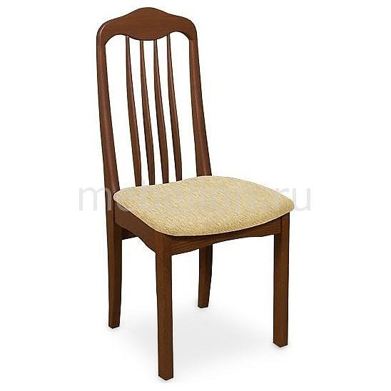 Стул мягкий Мебель Трия Стул Элегия Т1 СМ-68.4.001 орех/бежевый мебельтрия стул гамма т1