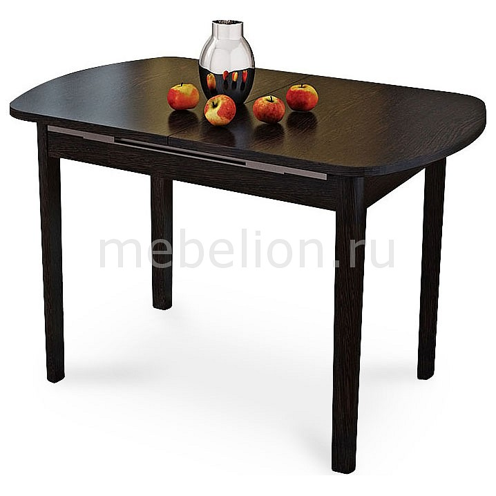Стол обеденный Мебель Трия Милан венге цаво стол обеденный мебель трия милан см 203 23 15