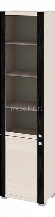 Шкаф-витрина Фиджи ШК(07)_32-21_17 дуб белфорт/венге цаво