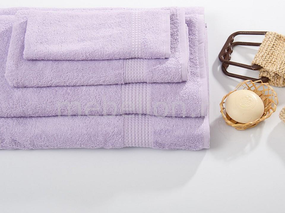 Банное полотенце TAC Touchsoft сиреневое 0912-84073