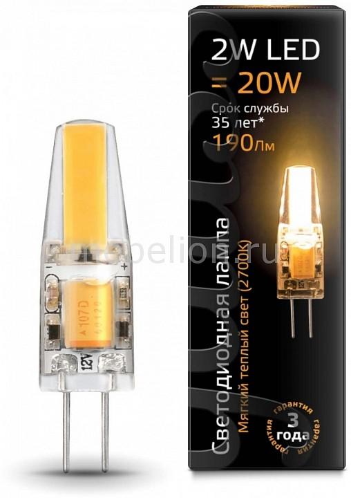 Лампа светодиодная Gauss 1077 G4 220-240В 2Вт 2700K 107707102