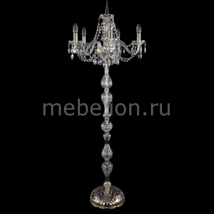 Торшер Bohemia Ivele Crystal 5506/5/160-140/G 5506