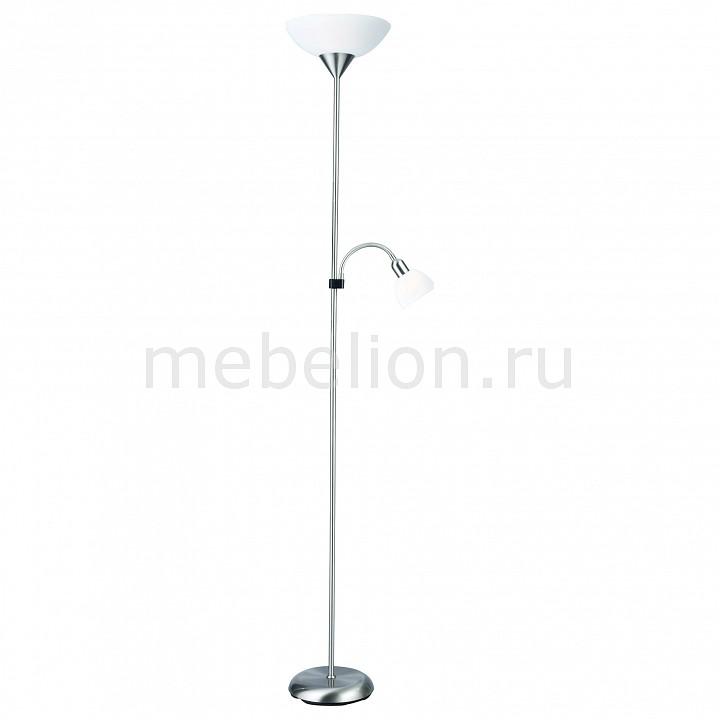 Торшер с подсветкой Arte Lamp Duetto A9569PN-2SI цены