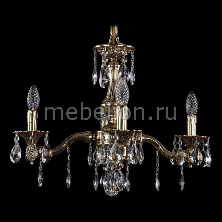 Подвесная люстра Bohemia Ivele Crystal 1710/4/160/A/GB 1710