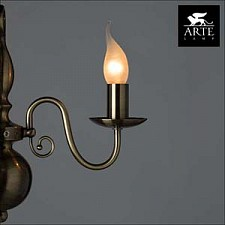 Бра Arte Lamp A1029AP-1AB Antwerp