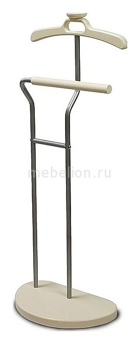Вешалка для одежды напольная Декарт Д-10 металлик/цвет слоновая кость mebelion.ru 2690.000