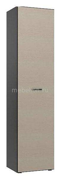 Шкаф для белья Пассаж СБ-825 дуб феррара/дуб кремона