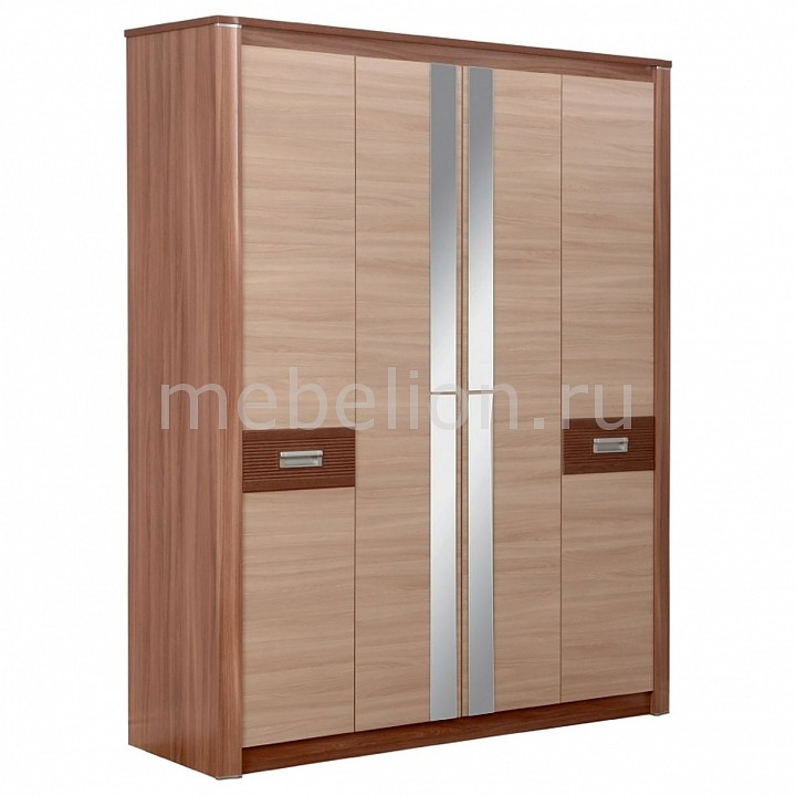 Шкаф платяной Олимп-мебель Стелла 06.235 ясень шимо темный/ясень шимо светлый цены