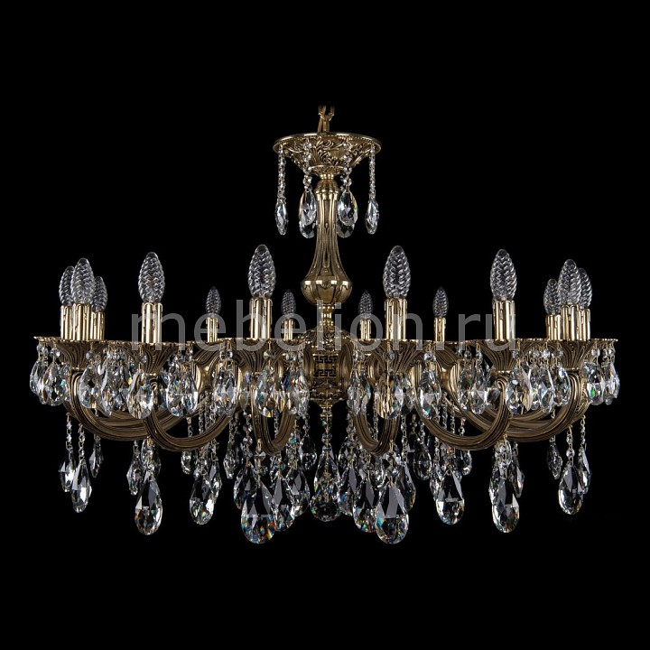 Подвесная люстра Bohemia Ivele Crystal 1702/16/335/A/GB 1702