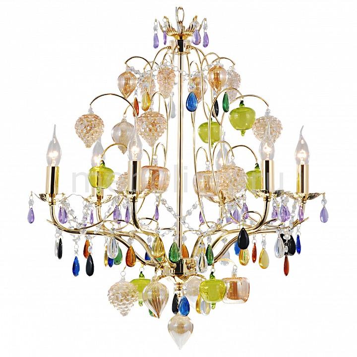 все цены на Подвесная люстра Arte Lamp Ricchezza A2011LM-6GO онлайн