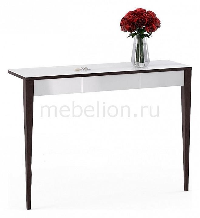 Консоль БьютиСтайл 2 венге/бежевый mebelion.ru 14600.000