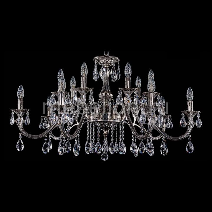 Подвесная люстра Bohemia Ivele Crystal 1703/14/360/A/NB 1703