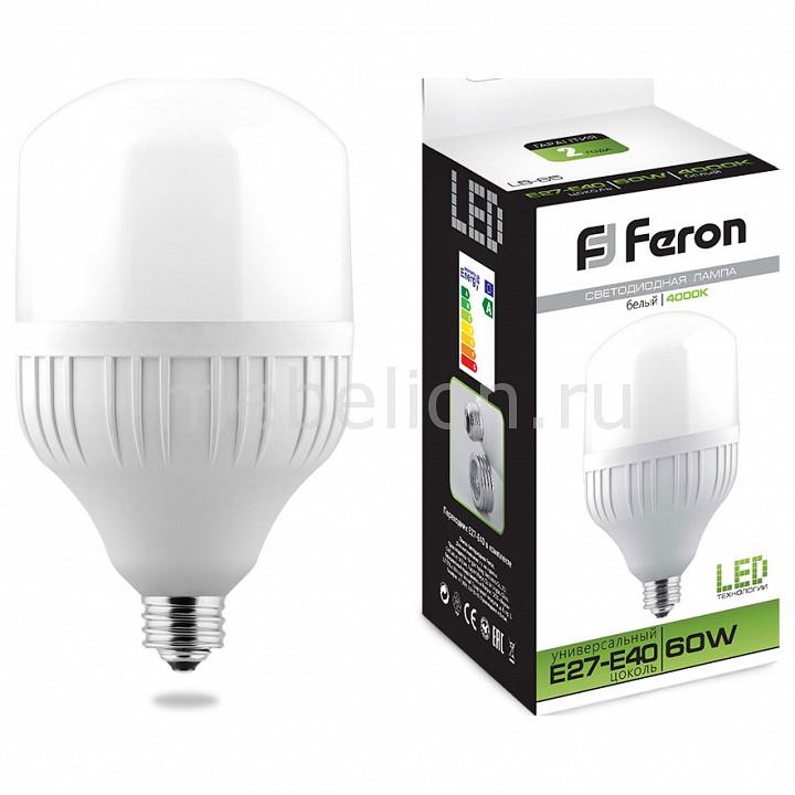 Лампа светодиодная Feron Saffit LB-65 E27-E40 220В 60Вт 4000K 25821 лампа светодиодная feron 25821 60w 230v e40 4000k lb 65