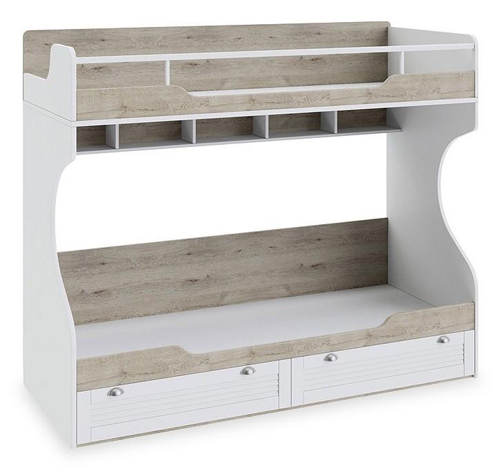 Кровать двухъярусная Мебель Трия Ривьера ТД-241.11.01 кровать мебель трия ривьера тд 241 12 01