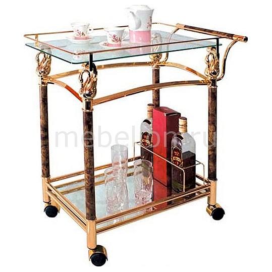 Стол сервировочный 4042 золото/коричневый mebelion.ru 4326.000