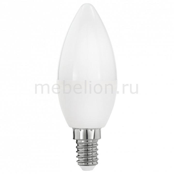 Лампа светодиодная [поставляется по 10 штук] Eglo Лампа светодиодная С37 E14 5,5Вт 3000K 11643 [поставляется по 10 штук] цена