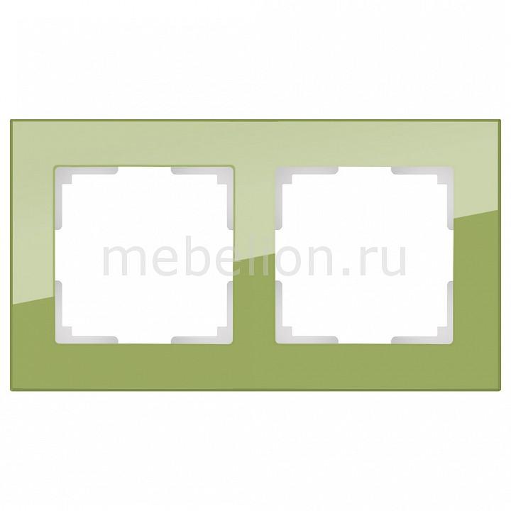 Рамка на 2 пост Werkel Favorit WL01-Frame-02 рамка favorit на 1 пост бронзовый wl01 frame 01 werkel 1209837
