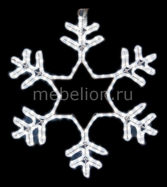 Панно световое Neon-Night (55x55 см) Снежинка NN-501 501-334 фигура акриловая светодиодная neon night мухомор 120 led с понижающим трансформатором 35 х 35 см