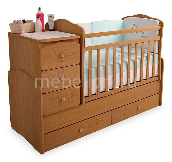 Кроватка-трансформер Фея 2150  тумбочка мальм