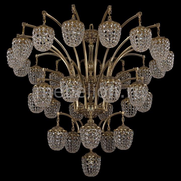 Подвесная люстра Bohemia Ivele Crystal 1772/16+10+5+1/490/GB 1772